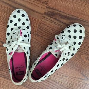 Kate Spade x Keds tennis shoes